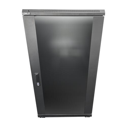 LDR, 22U, Server, Rack, Cabinet, Glass, Door, (600mm, x, 1000mm), Included, Shelves,