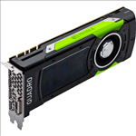 Quadro, P6000, Workstation, Graphics, Card, PCIE, 24GB, DDR5X, 5H, (4xDP/1xDVI-D), Dual, Slot, (Leadtek, OEM),