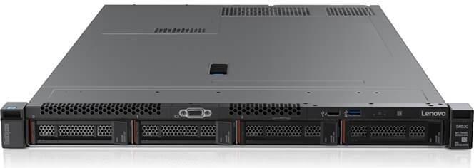 LENOVO, SR630, SILVER, 4210, 10C, (1/2), 16GB(1/24), 2.5, HS(0/10), RAID530, 750W(1/2), 3YR,