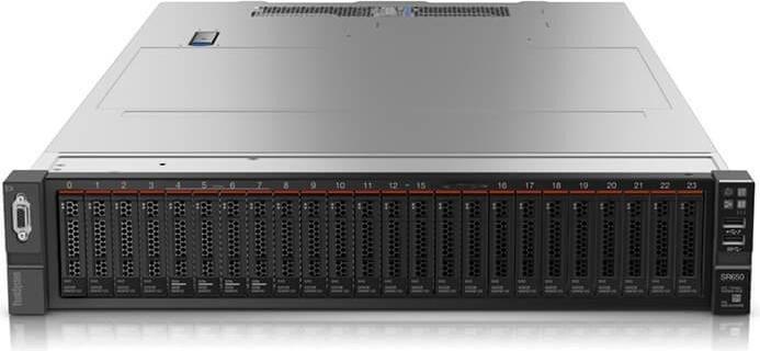 Rack Mounted/Lenovo: LENOVO, SR650, SILVER, 4210, 10C, with, 16GB, and, Windows, Server, 2019, Standard, ROK, (16C),