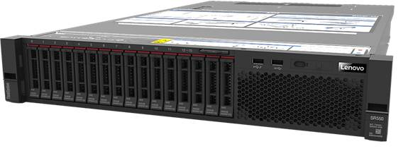 LENOVO, SR590, SERVER, INTEL, XEON, SILVER, 4110, 8, Core, 2.1GHZ, 16GB, 750W,