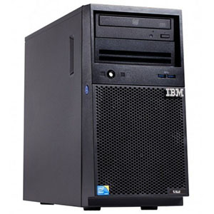 Lenovo, x3100, M5, Xeon, 4, core, E3-1220v3, 80W, 3.1GHz/1600MHz/8MB, 1x4GB, O/Bay, SS, 3.5in, SATA, SR, C100, 350W, p/s, Tower, Server,