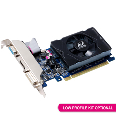 Inno3D, PCIe, GT630, 2GB, LP, Graphics, Card,