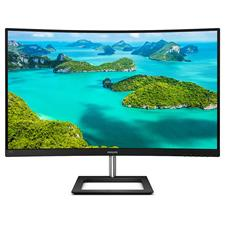 Philips, E-Line, 31.5, Ultra, Wide-Colour, Curved, 4K, UHD, VA, Monitor,