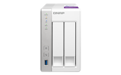 BUNDLE, QNAP, TS-231P, 2BAY, Network, Attached, Storage, WITH, SEAGATE, IW, 4TB(2, X, 2TB), Disk, (ST2000VN004),