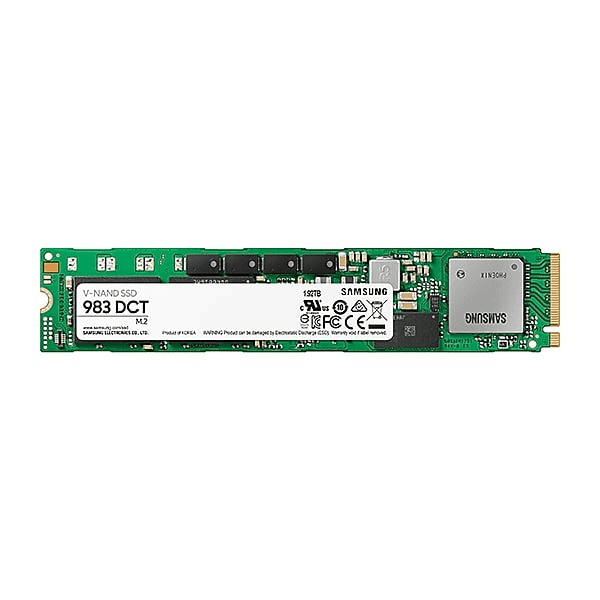 Samsung, Solid, State, Drive, (SSD), 983, DCT, 1, 920GB, V-NAND, 3bit, MLC, M.2, NVME, R/W, (Max), 3, 000MB/s/1, 4000MB/s-, 3, Years, Warr,