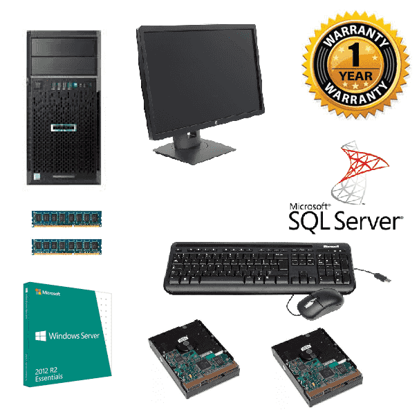 Tower/Serverguys: Serverguys, -, MAKE, IT, EASY, -, Our, First, Server, with, SQL, Database,