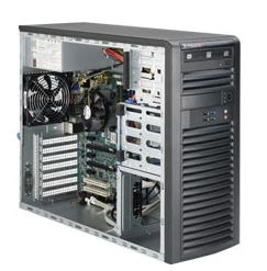 Supermicro, SuperWorkstation, 5039A-iL, 4U, Tower, Single, Socket, LGA1151, 4, x, DIMM, Intel, C623, 4, x, 3.5, Disk, 500w, Power, Supply,
