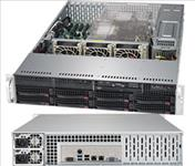 Supermicro, SuperServer, 6029P-TR, 2U, Rackmount, Dual, Socket, LGA3647, 16x, DIMM, Intel, C621, 2, x, 1GBe, IMPI, 8x, 3.5, Disk, H,