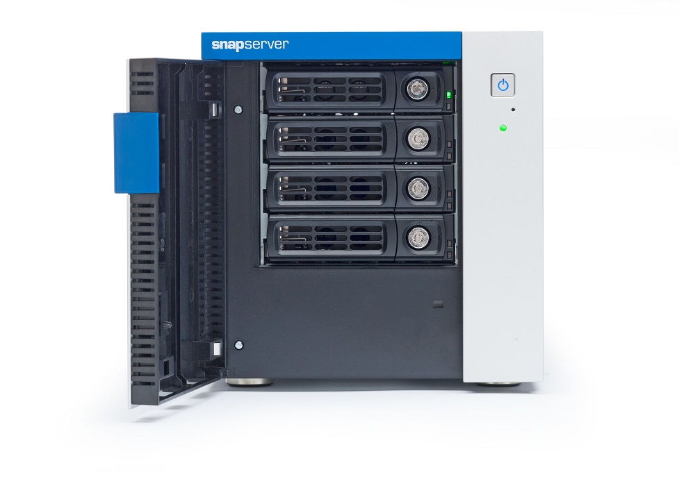 SnapServer, XSD40, with, 4, x, 2TB, Network, Attached, Storage, HDDs, –, 4-Bays, Desktop,