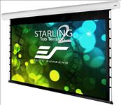 Elite, Screens, Starling, Tab-Tension, 2, 120, 2.6m, wide, 16:9, Electric, Motorized, Projector, Screen,