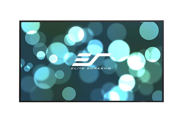 Elite, Screens, 110, Fixed, Frame, 16:9, Projector, Screen, Edge, Free, Ultra, Thin, Velvet, Tape, -, AEON,
