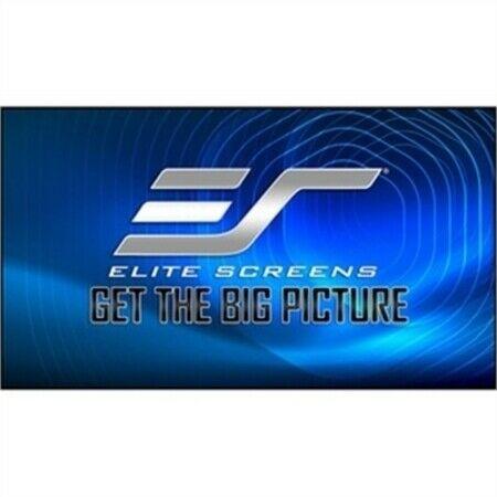 Elite, Screens, 103, Fixed, Frame, 16:9, Projection, Screen, Ultra, Thin, Bezel, CLR-2,