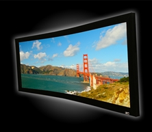 Elite, 103, Fixed, Frame, 2.35:1, Projector, Screen, Anamorphic, Lunette235,