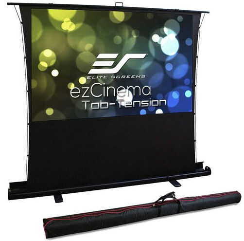 Elite, Screens, 100, 2.2m, wide, 16:9, Portable, Pull-Up, Tab, Tensioned, Screen, for, UST,