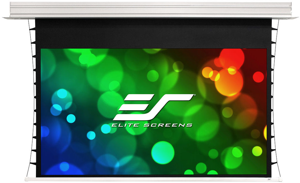 Elite, Screens, 115, 16:9, Electric, in-Ceiling, Tensioned, ALR, Projector, Screen,