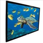Elite, Screens, 84, FIXED, FRAME, 16:9, PROJECTOR, SCREEN, CINEWHITE, BLACK, BACKED, -, EZFRAME,
