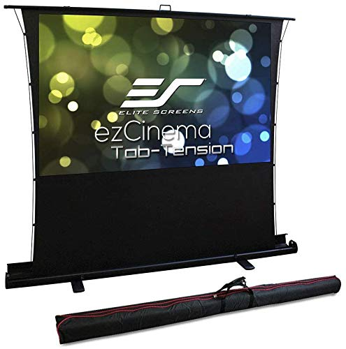 Elite, Screens, 74, 16:9, PULL-UP, Tab, Tensioned, Projector, Screen, for, UST,