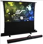 Elite, Screens, 100, 4:3, PULL-UP, Tab, Tensioned, Projector, Screen, for, UST,