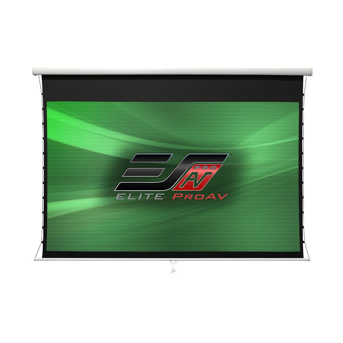 Elite, Screens, 135, 16:9, Pull, Down, Screen, Manual, Cine, White, UHD-B,