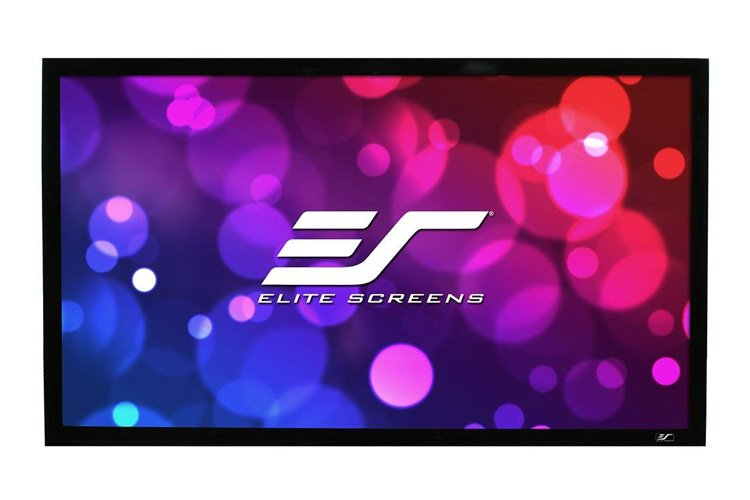 Elite, Screens, R110DHD5, 110, Fixed, Frame, 2D/3D, Polarized, Screen, 16:9, Ambient, Light, Rejection, ezFrame, CineGrey, 5D,