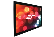 Elite, Screens, 100, FIXED, FRAME, 4:3, PROJECTOR, SCREEN, CINEWHITE, BLACK, BACKED, -, EZFRAME,