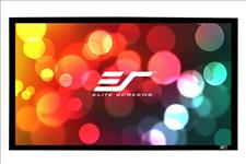 Elite, Screens, 100, Fixed, Frame, 16:9, Projector, Screen, CineWhite, Sable, Frame, B2,