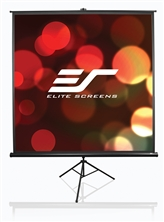 Elite, 136, Tripod, 1:1, Portable, Projector, Screen,