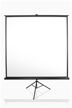 Elite, Screens, 113, Tripod, Pro, Series, 1:1, PORTABLE, Projector, Screen,