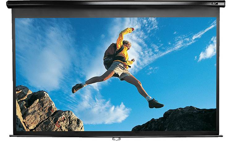 Elite, Screens, M84UWH, 84, Inch, (1.77m, wide), 16:9, Manual, Pull-Down, Projector, Screen, with, WHITE, case,