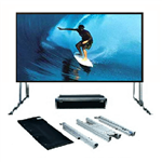 SG, Audio, Visual, FF, Series, 4m, wide, (186, ), Portable, Fast-Fold, Projector, Screen, with, Front, Projection, Surface, (16:10),