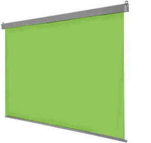 SG, 3m, wide, Chroma, Key, Green, Electric, screen, for, video, production,