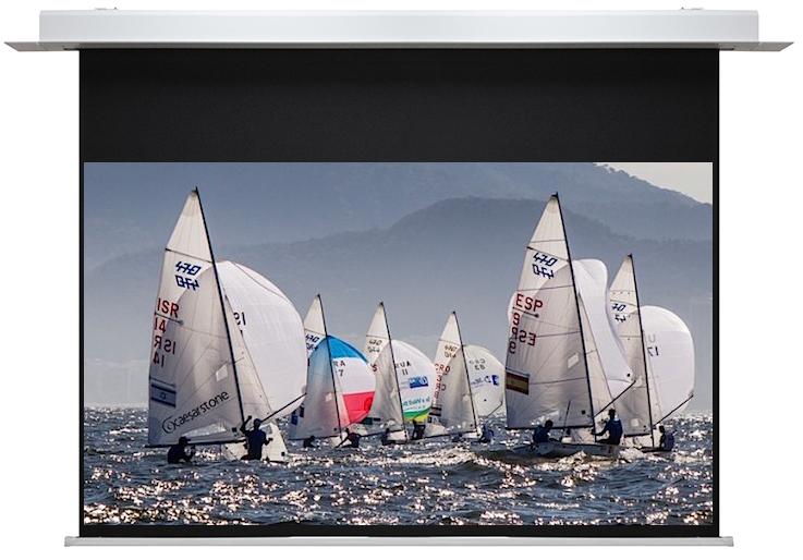"SG, IA, Series, 150"", 3.3m, Wide, 16:9, Premium, In-Ceiling, Electric, Screen,"