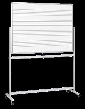 Visionchart, Mobile, Music, Board, 1800, x, 1200mm,