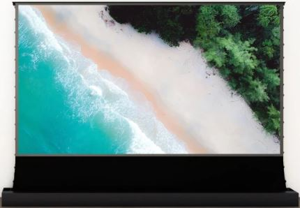 Vividstorm, CLR, UST, 110, 16:9, 2.4m, wide, Electric, Floor, Rising, Tension, Projector, Screen,