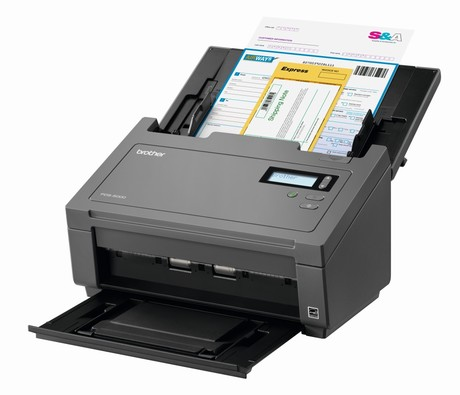 Brother, PDS-6000, 80PPM, 100, Sheet, ADF, USB, Business, Scanner,