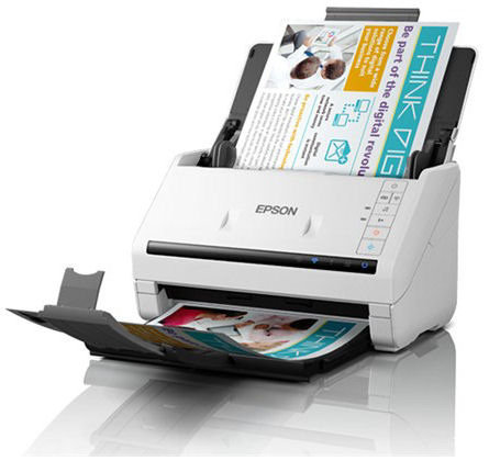 Epson, DS570WII, 35ppm, A4, WiFi, Document, Scanner,