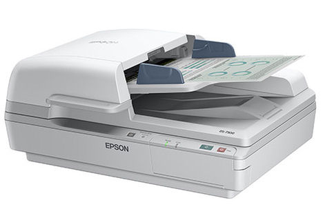 Epson, DS-7500, A4, 40ppm, Duplex, Sheetfed, &, Flatbed, Scanner, plus, Bonus, Warranty,