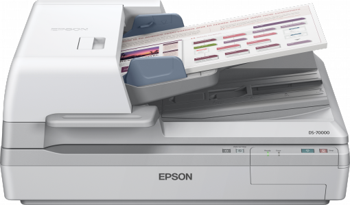 Epson, DS-70000, Duplex, 70PPM, A3, Document, Scanner, with, Flatbed,