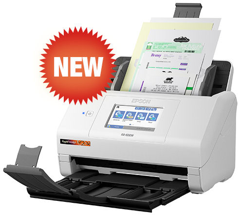 Epson, RR-600W, A4, 35ppm, Desktop, Receipt, and, Accounting, Scanner,