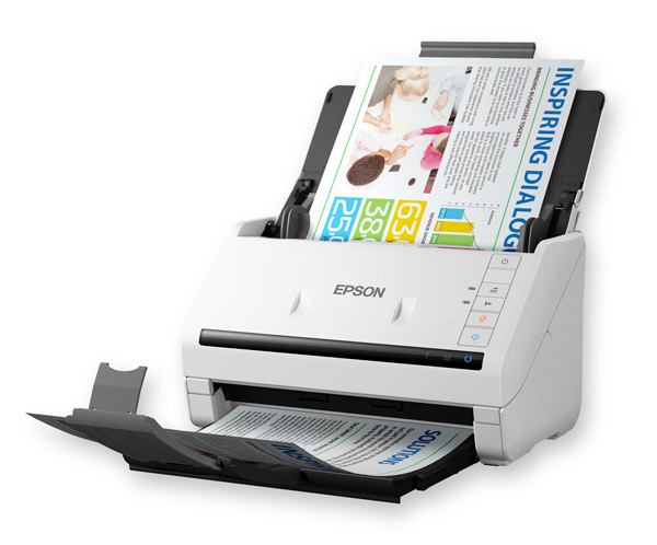 Epson, WORKFORCE, DS-530, 35ppm, A4, Document, Scanner,