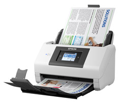 Epson, WORKFORCE, DS-780N, 45ppm, A4, Document, Scanner,