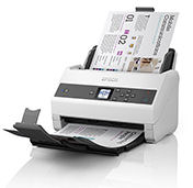 Epson, Workforce, DS-970, A4, 85ppm, LED, 100, page, ADF, Document, Scanner,