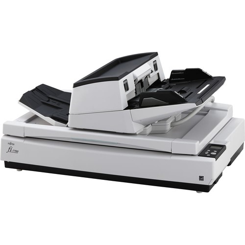 FUJITSU, FI-7700, A3, DUPLEX, 100PPM, Document, Scanner, with, Flatbed,