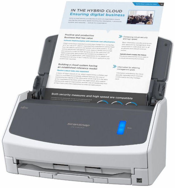 Fujitsu, Scansnap, IX1400, A4, 40ppm, Document, Scanner,