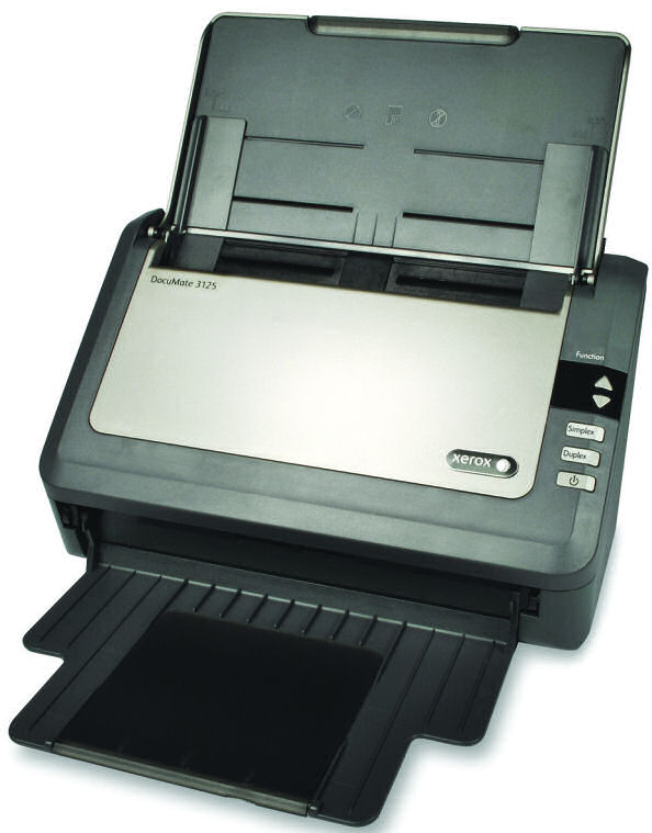 Fuji, Xerox, DM3125, A4, 25ppm, Document, Scanner,