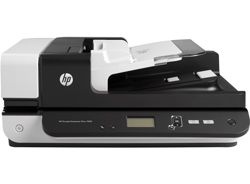 A4 Document and Flatbed/Hewlett-Packard: HP, SCANJET, ENTERPRISE, FLOW, 7500, S2, FLATBED,