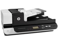 HP, Scanjet, 7500, A4, 50ppm, Duplex, Flatbed, and, ADF, Scanner,
