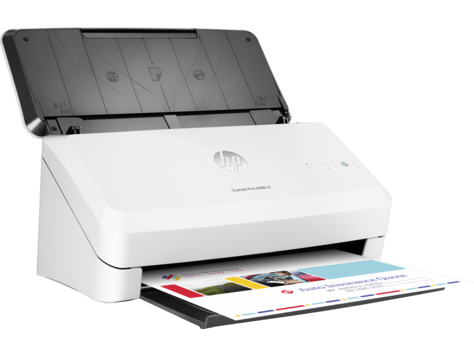 HP, ScanJet, Pro, 2000, S1, 24ppm, A4, Document, Scanner,