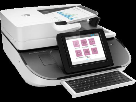 HP, Digital, Sender, Flow, 8500, FN2, A4, Network, Scanner,